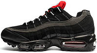 Мужские кроссовки Nike Air Max 95 Essential Black/Challenge Red