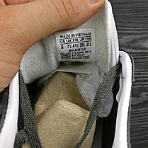 Кроссовки мужские Adidas Gazelle серые топ реплика, фото 3