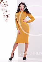 Платье 25076 (Горчица)
