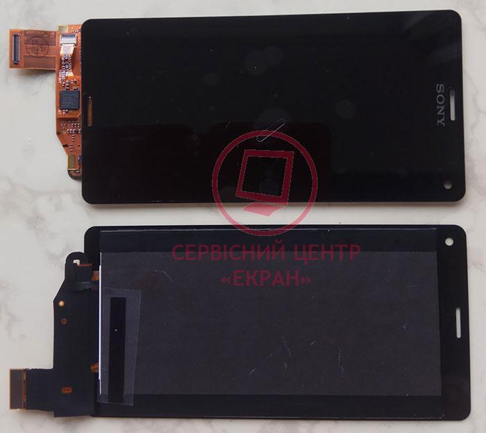 Дисплей модуль Sony Xperia Z3 Compact Mini D5803, D5833 в зборі з тачскріном, чорний