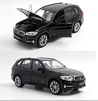 Коллекционная машинка BMW X5 металлическая модель в масштабе 1:24 Welly