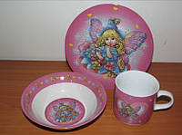 Набор детской посуды Дюймовочка
