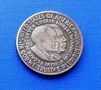 США пол доллара 1952 год и557