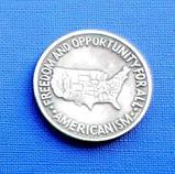 США пол доллара 1952 год и557, фото 2