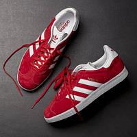 Кроссовки Adidas Gazelle Красные 36-40 рр.