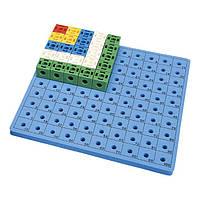 Набор для обучения Gigo Доска для набора Занимательные кубики 1017C (1163)