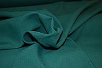 Габардин зеленый изумруд