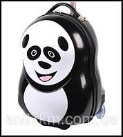 Детский пластиковый чемодан Cuties and Pals-Панда