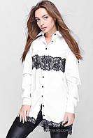 Блузка 25149 (Серый)