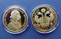Австро-Венгрия 4 дуката 1915 год и534