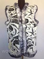 Безрукавка белая , фото 1