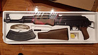 Автомат металлический АК-47 на пульках 1:1 Автомат Калашникова