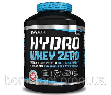 Hydro Whey Zero 1,816 кг вишнево банановый BioTech