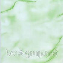 Волна зеленая 250х6000х8мм. Пластиковые панели (ПВХ) Deco life (Деко лайф)