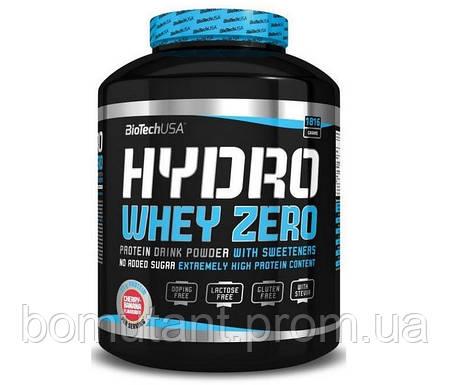 Hydro Whey Zero 1,816 кг шоколадно ореховый  BioTech