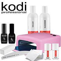 Стартовый набор для покрытия ногтей гель лаком Kodi Professional № 4