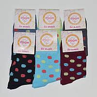 Женские носки Дукат - 6.50 грн./пара (высокие, горох)