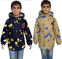Курточка для мальчика на тонком флисе