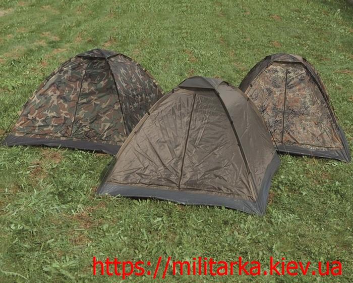 Палатка 3-х местная IGLU Стандарт Милтек флектарн