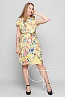 Платье -25252 (Желтый)