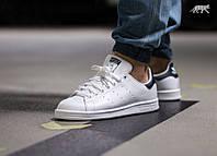 Кроссовки Adidas Stan Smith Черно Белые 36-40 рр.