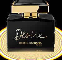 Original Dolce Gabbana The One Desire 75ml EDP (соблазнительный, роскошный, обволакивающий)