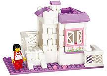 Конструктор Sluban серия Розовая мечта M38-B0156 Загородный домик, фото 2