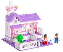 Конструктор Sluban серия Розовая мечта M38-B0156 Загородный домик, фото 3
