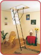 Чердачные лестницы METAL T3 (Oman) (120*70)