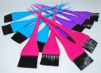 Кисть для покраски волос sketch 214 узкая, цветная, пластиковая, Кисти для покраски