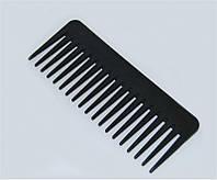 Гребень для волос Cedar 1337 чёрный, пластиковый, Гребень для волос