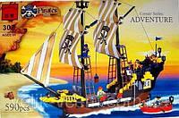 "Конструктор Brick 307 ""Приключение"" ADVENTURE из серии Pirates Series"