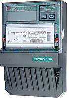 Электросчетчик Меркурий ART-01 PQC(R)SIN 3*230/380В 5-60A  трехфазный активно-реактивной энергии многотарифный