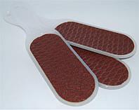 Терка для ног YRE PN-03, пластиковая ручка, Терка для педикюра, Терка для пяток, терка для стоп, пилка для ног
