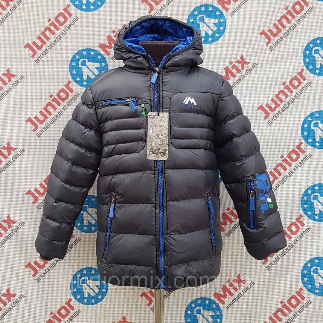 Зимняя детская куртка для мальчиков  оптом GLO-STORY