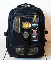 Мужской рюкзак. Школьный портфель. Качественный городской рюкзак. СШ11