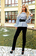 Женский костюм: рубашка и брюки (в расцветках), фото 1