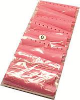 Бигуди - Конус для создания локонов poppy BG-20-06 (Цена за 10 шт.), пластмасовые, красные, упаковка 6, бигуди для волос
