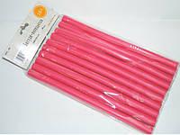 Бигуди папильотки для создания локонов  cornflower PPL-00, размер 240x14 mm, (Цена за 10 шт.), паролон, бигуди для волос