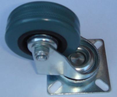 Колесо резиновое d-50 мм