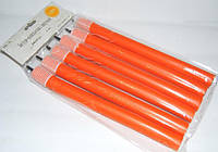 Бигуди папильотки с липучкой для создания локонов peony PPL-12 размер 240x20mm (Цена за 6 шт.), поролоновые, синие, бигуди для волос