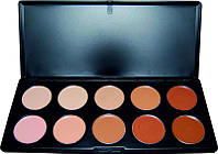 Палитра для макияжа YRE P-10, профессиональная палитра для макияжа, профессиональный корректор, средство для макияжа, набор для макияжа, палитры для