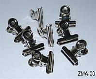 Зажимы для арки ногтей YRE ZMA-00, маленькие 50 шт, металлические, зажимы для снятия гель - лака, клипса для снятия гель - лака, удаление гель - лака