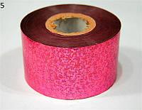 Фольга для декора ногтей YRE YFC-00, в рулоне цветная, цена за 1 шт, фольга для дизайна ногтей, фольга для литья, фольга для ногтей
