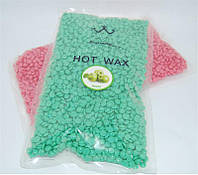 Воск для депиляции Konsung Hot Wax YVG-05 в гранулах 500 гр (яблоко), эпиляция воском, депиляция воском, депилирующий воск, воск для удаления волос