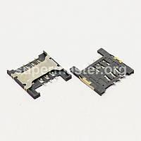 Разъем гнездо sim сим карты Lenovo A288t A298T A336 Huawei C8826D