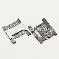 Разъем гнездо sim сим карты Lenovo K860i A658t A828T A5000