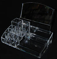 Органайзер для косметики MF-B012, акриловый, бесцветный, подставка для хранения косметики, контейнер для украшений, косметические принадлежности