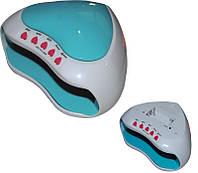 LED Лампа для ногтей Hydrangea, голубо-белый, мощность 6W, работает от 3х батареек ААА, быстрая полимеризация, лампа для наращивания ногтей, ультра