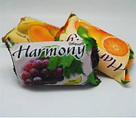 Фруктовое мыло Harmony для тела, виноград, вес 150 г, в упаковке 48шт, гигиена, бытовая химия, туалетных, мыло для рук, твердое мыло, мыло для ног